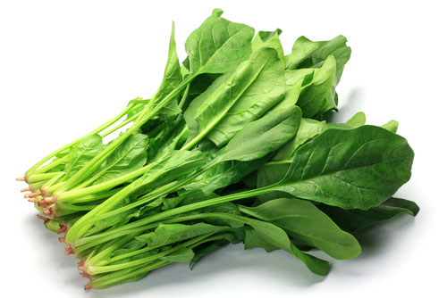 green leaf vegetables
